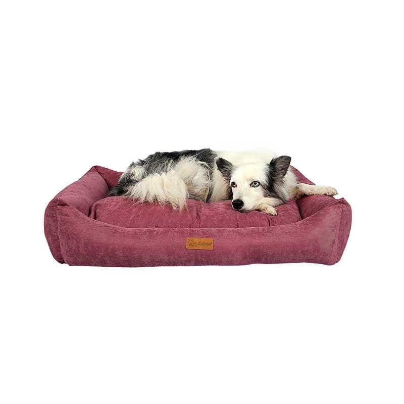 Dubex Cookie Kedi Köpek Yatağı Gül Kurusu Large