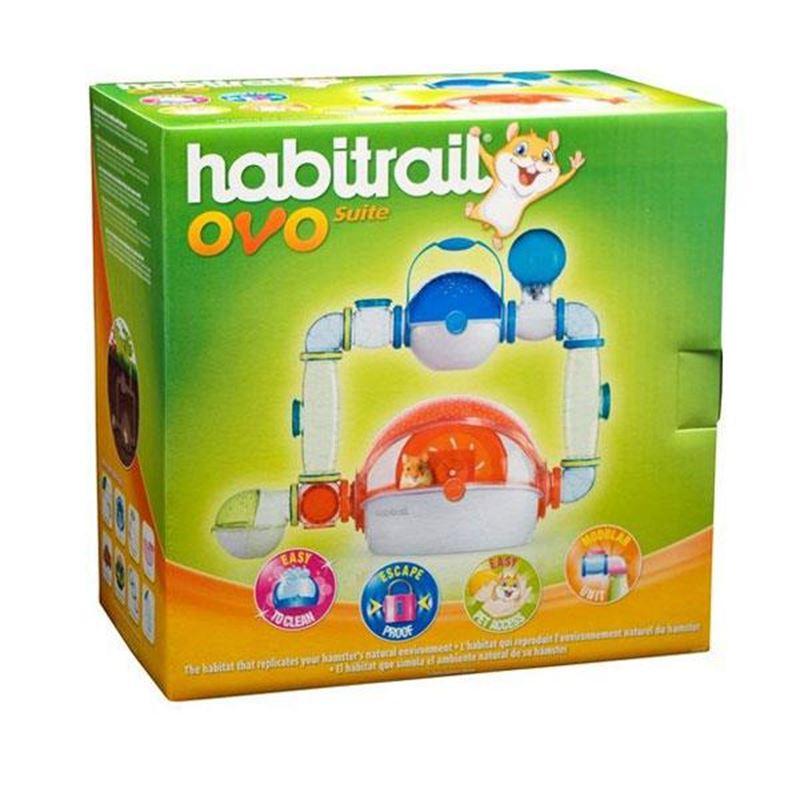 Habitrail Ovo Suite Komple Hamster Kafes Seti