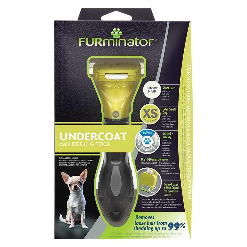 Furminator Short Hair Kısa Tüylü Köpek Tarağı XS
