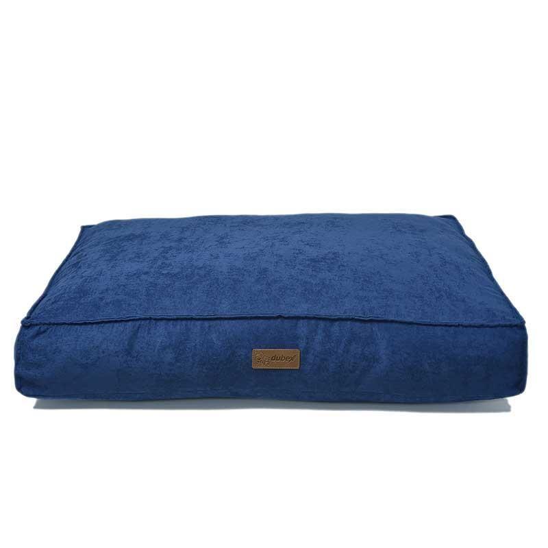Dubex Soft Köpek Yatağı Saks Mavi Large