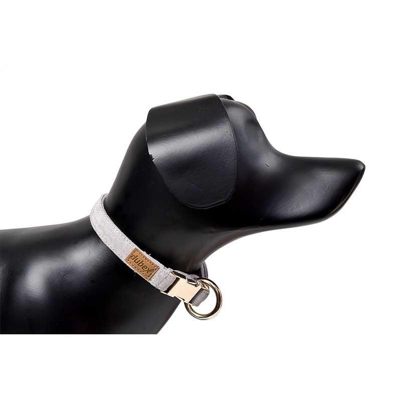 G-Dog Köpek Boyun Tasması Açık Gri L-XL