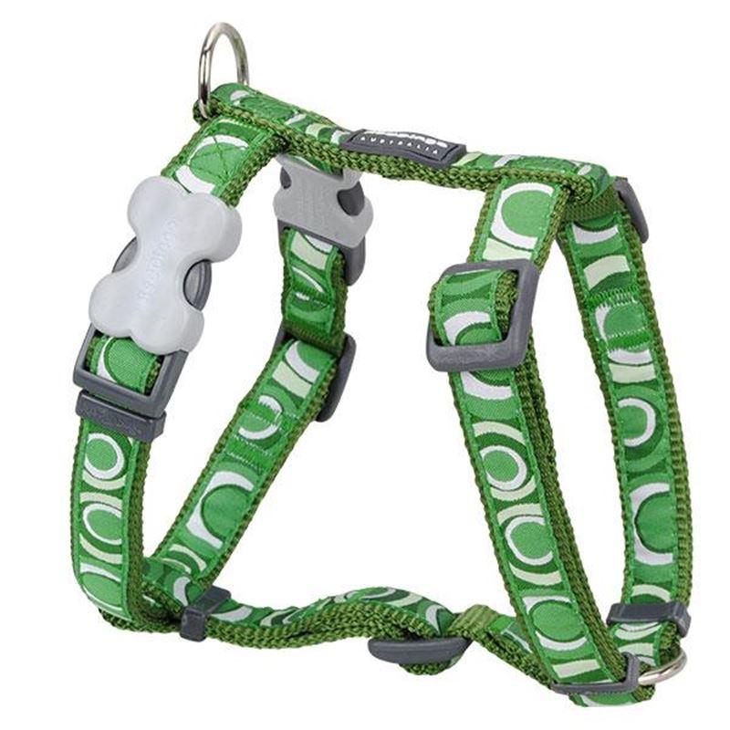Reddingo Circadelic Yeşil XLarge Köpek Göğüs Tasması 25 Mm
