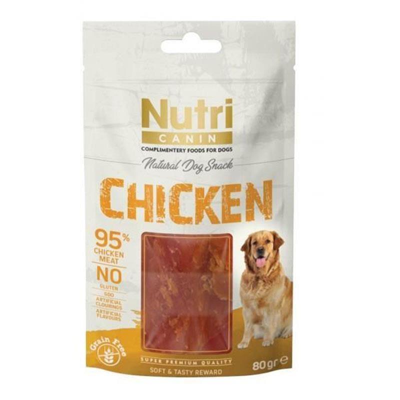 Nutri Canin Chicken Snack Köpek Ödülü 80 Gr