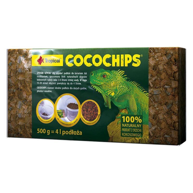 Tropical Cocochips Sürüngen Taban Malzemesi 500 gr