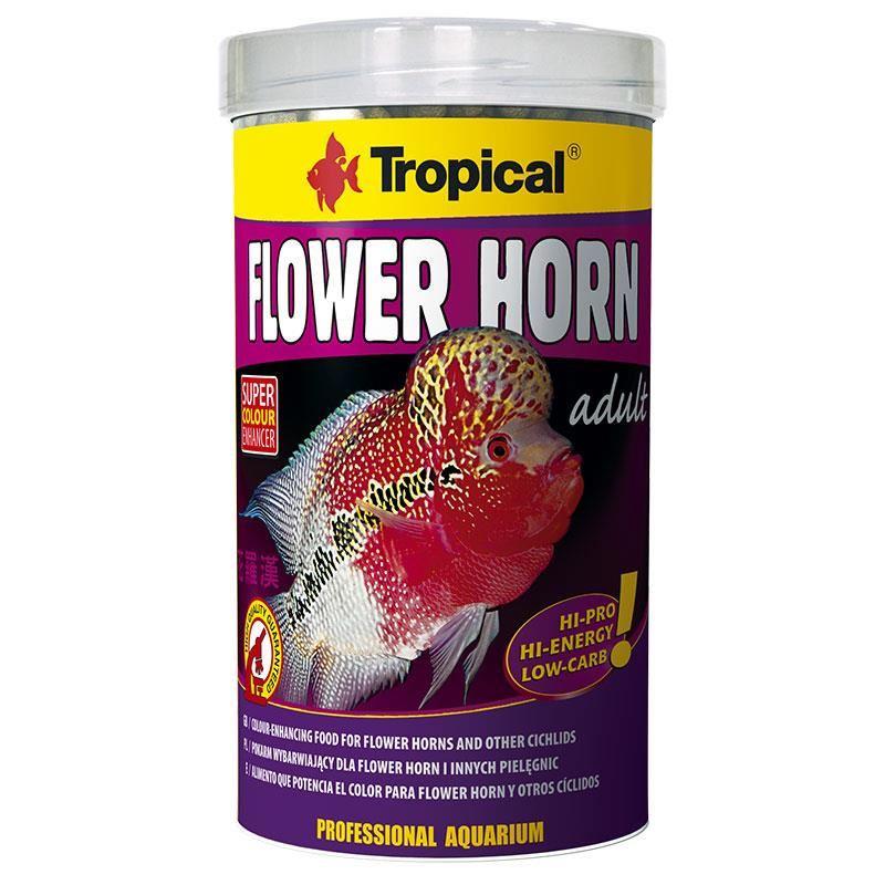 Tropical Flower Horn Adult Pellet 500 ml