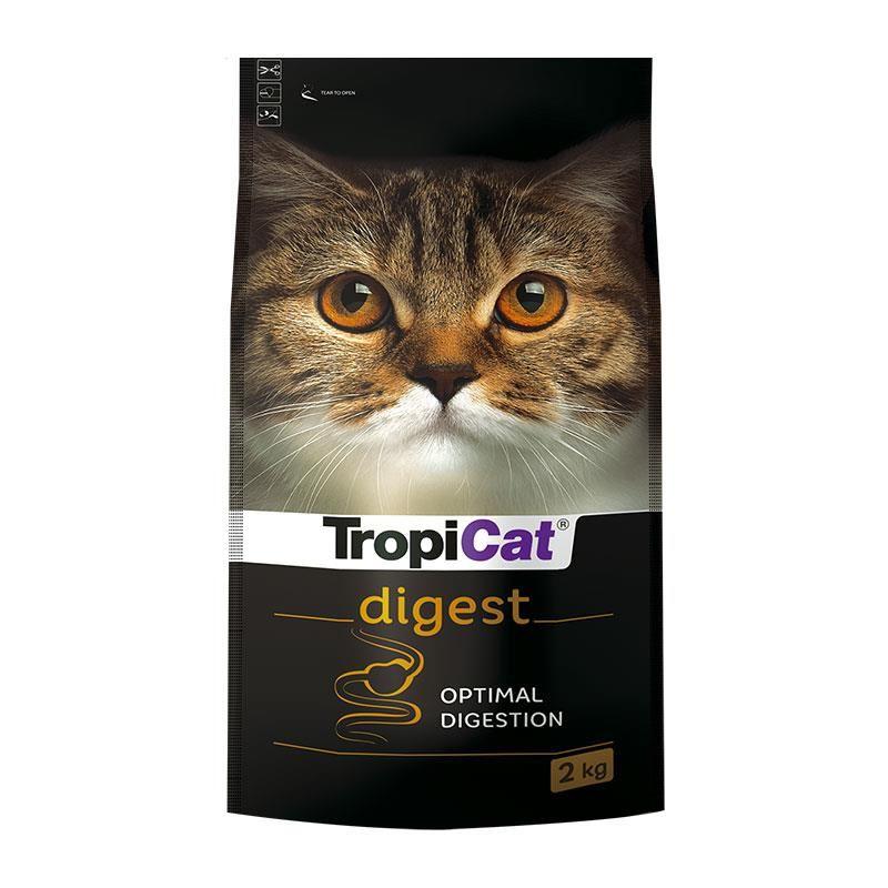TropiCat Digest Sindirim Destekleyici Yetişkin Kedi Maması 2 kg
