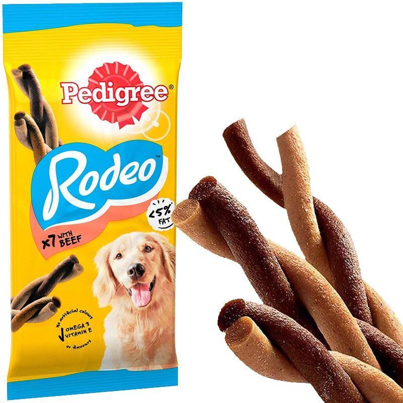 Pedigree Rodeo Sığır Etli Köpek Ödülü 123 Gr