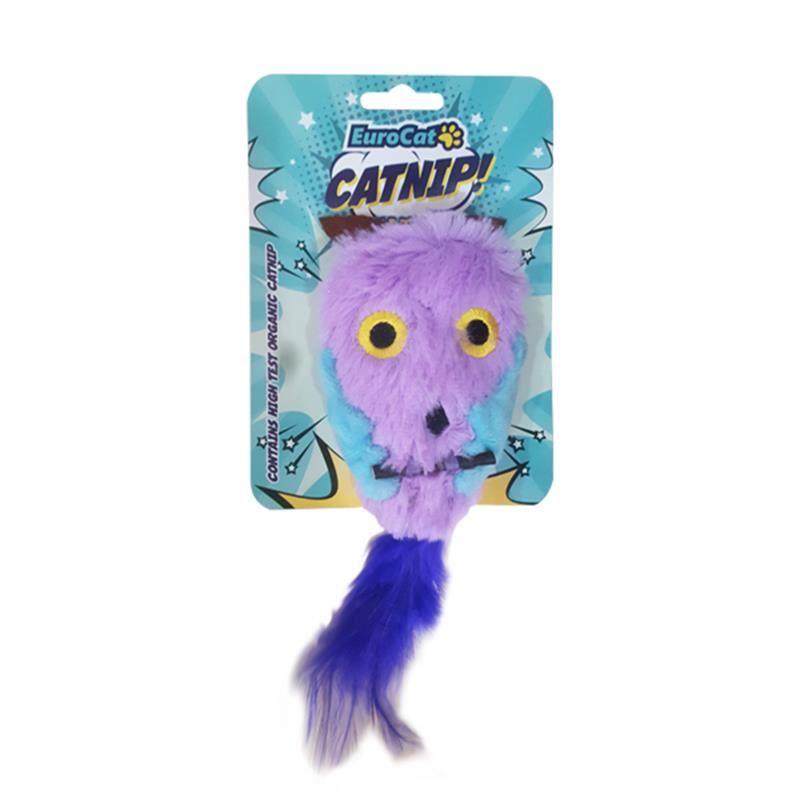 EuroCat Kedi Oyuncağı Pembe Baykuş