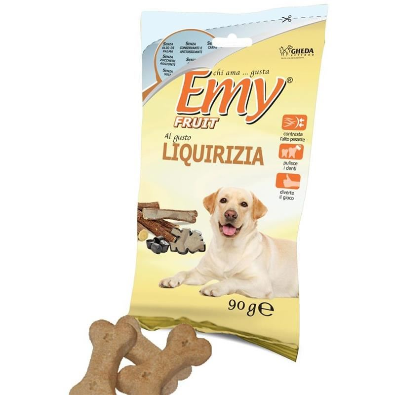 Emy Fruit Liquirizia Meyan Kökü Aromalı Köpek Ödülü 90 Gr