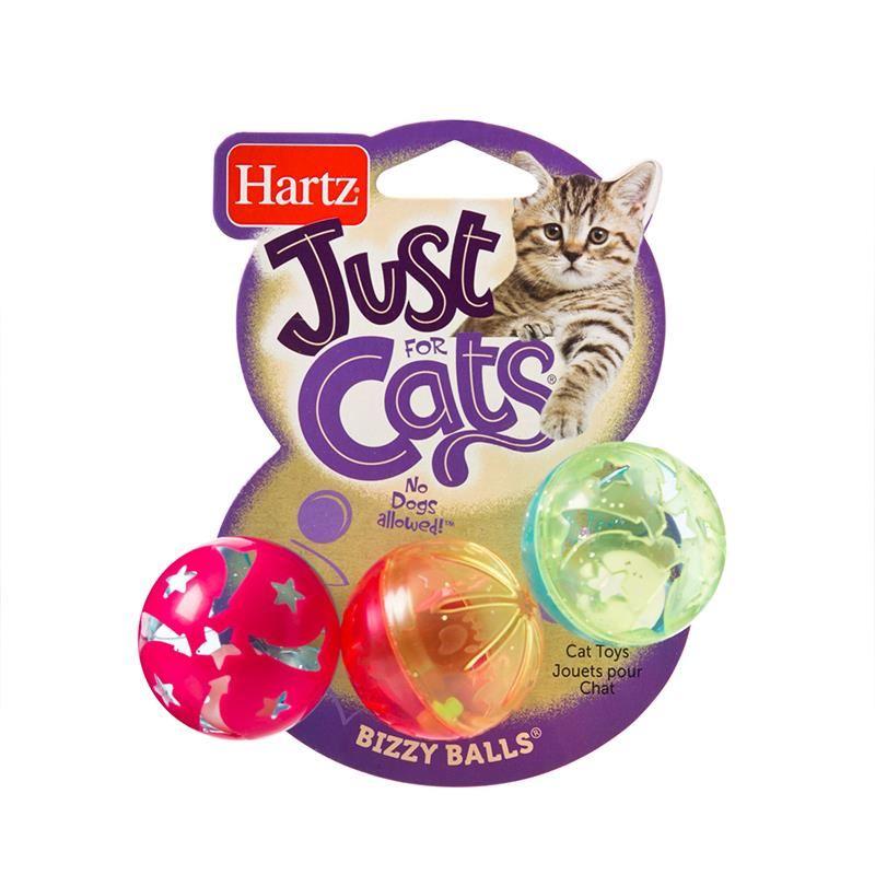 Hartz Jfc Bizzy Balls Cat Toy 3 Lü Çıngıraklı Kedi Oyuncağı