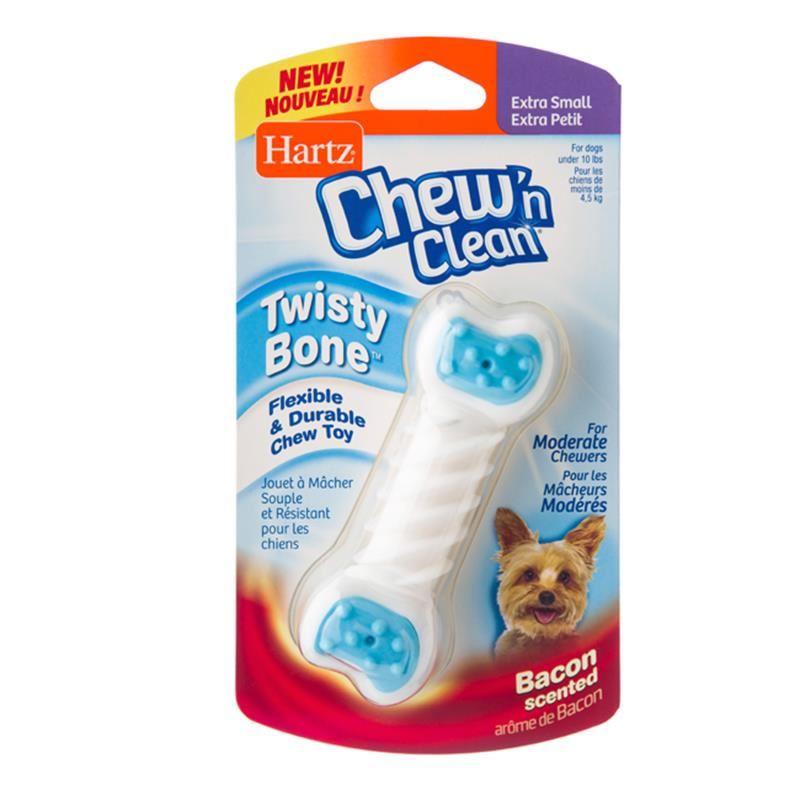 Hartz Cnc Twisty Bone XSmall Pastırmalı Kemik Köpek Oyuncağı