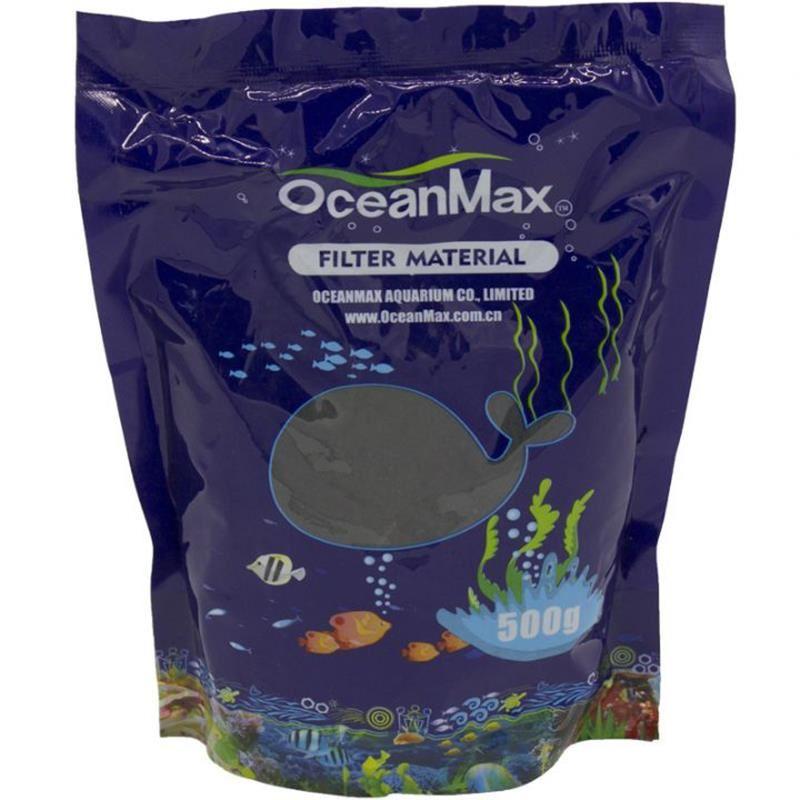 OceanMax Active Carbon Akvaryum Filitre Mazemesi 500 Gr
