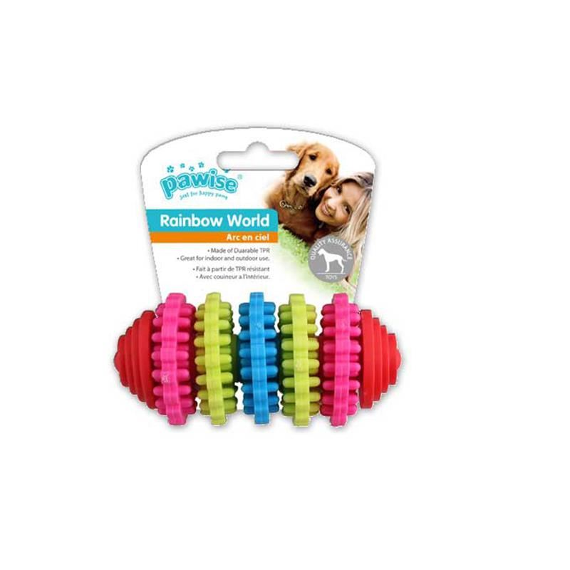 Pawise Rainbow World Dişli Köpek Oyuncağı 11 Cm