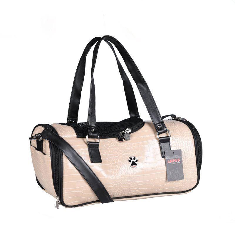 Lepus Duffle Bag Kedi Köpek Taşıma Çantası Bej