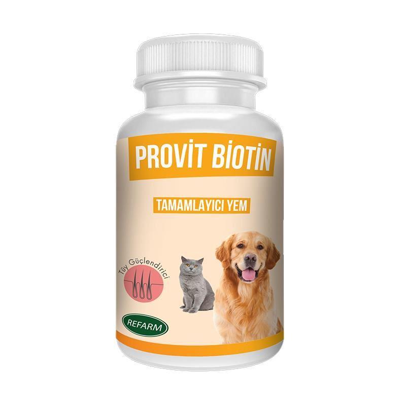 Provit Biotin Kedi Köpek Tüy Güçlendirici 100 Gr