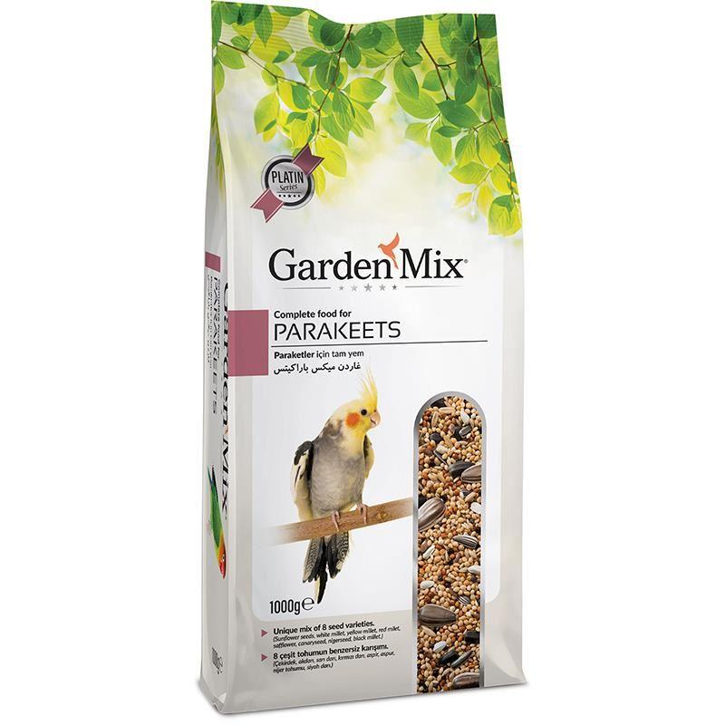 Gardenmix Platin Paraket Yemi 1 Kg