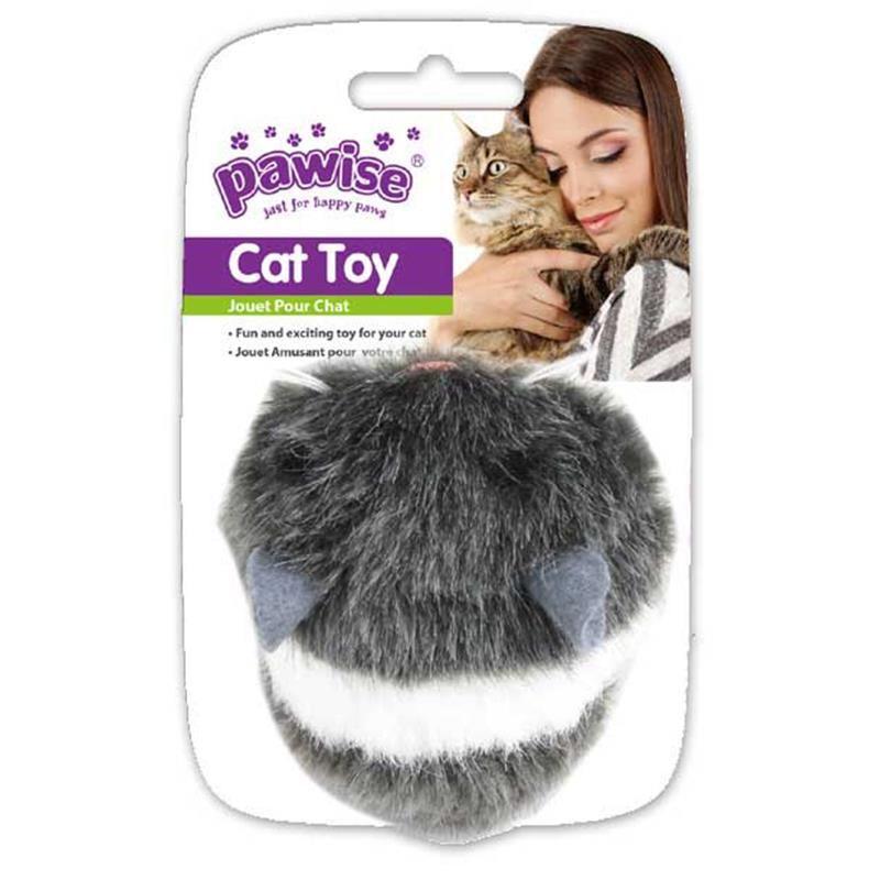Pawise Kurmalı Peluş Fare Kedi Oyuncağı 8 Cm