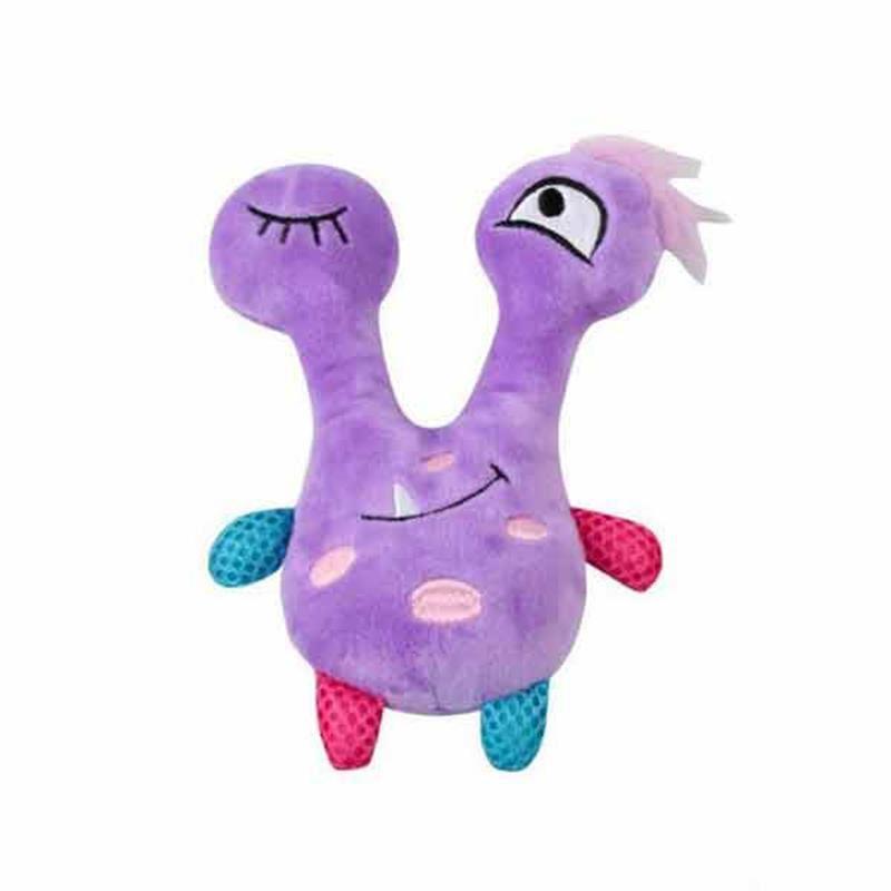 Pawise Peluş Oyuncak Little Monster Violet Köpek Oyuncağı