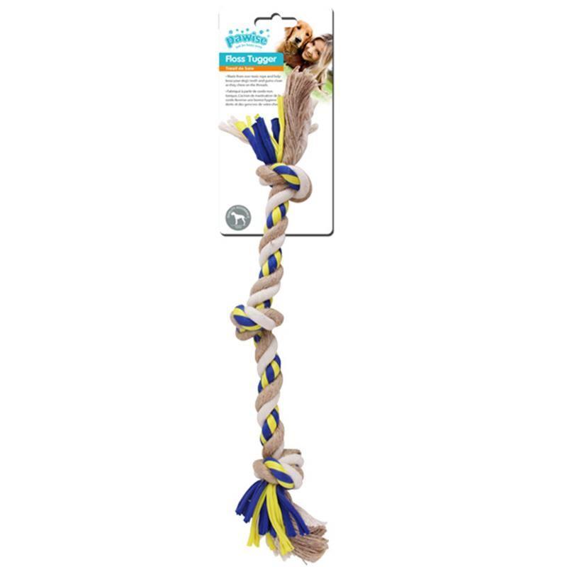 Pawise Floss Tugger 3 Düğümlü Diş İpi Köpek Oyuncağı 47 Cm