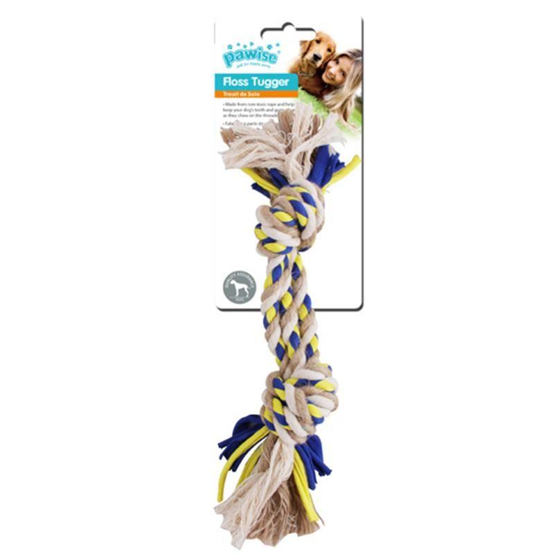 Pawise Floss Tugger 2 Düğüm Köpek Oyuncağı 36 Cm