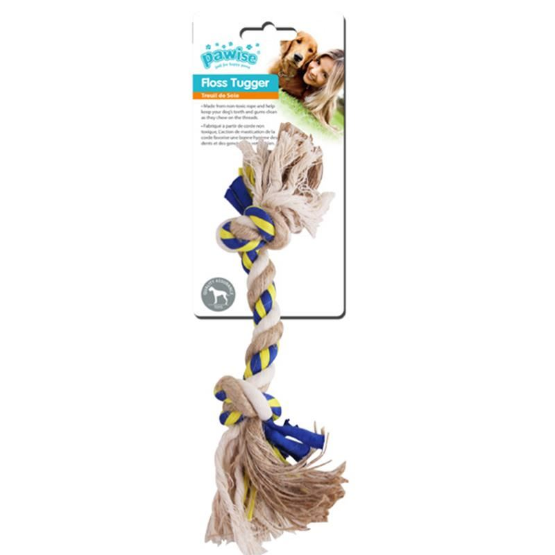 Pawise Floss Tugger 2 Düğümlü Diş İpi Köpek Oyuncağı 34 Cm