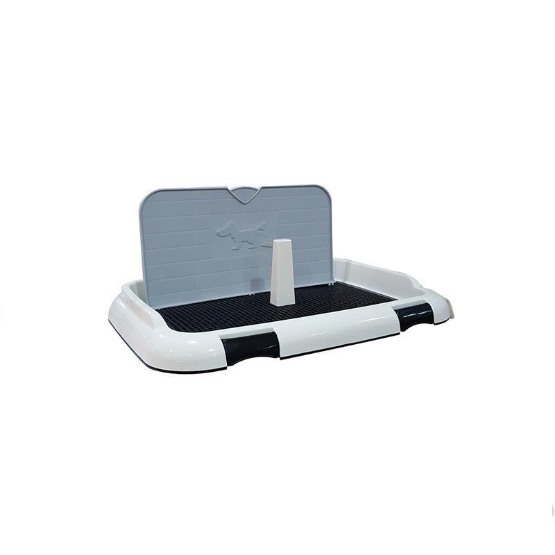 DIIL Duvar Koruma Panelli Köpek Tuvaleti Siyah 66x47x30 Cm