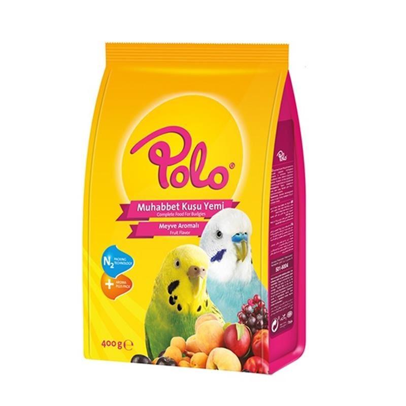 Polo Meyveli Muhabbet Kuşu Yemi 400 Gr
