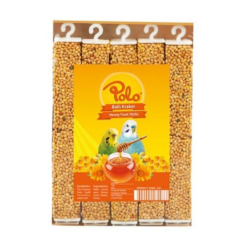 Polo Ballı Muhabbet Kuşu Krakeri 10 lu Paket 315 Gr