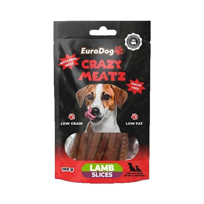 EuroDog Lamb Slice Köpek Ödülü 100 Gr