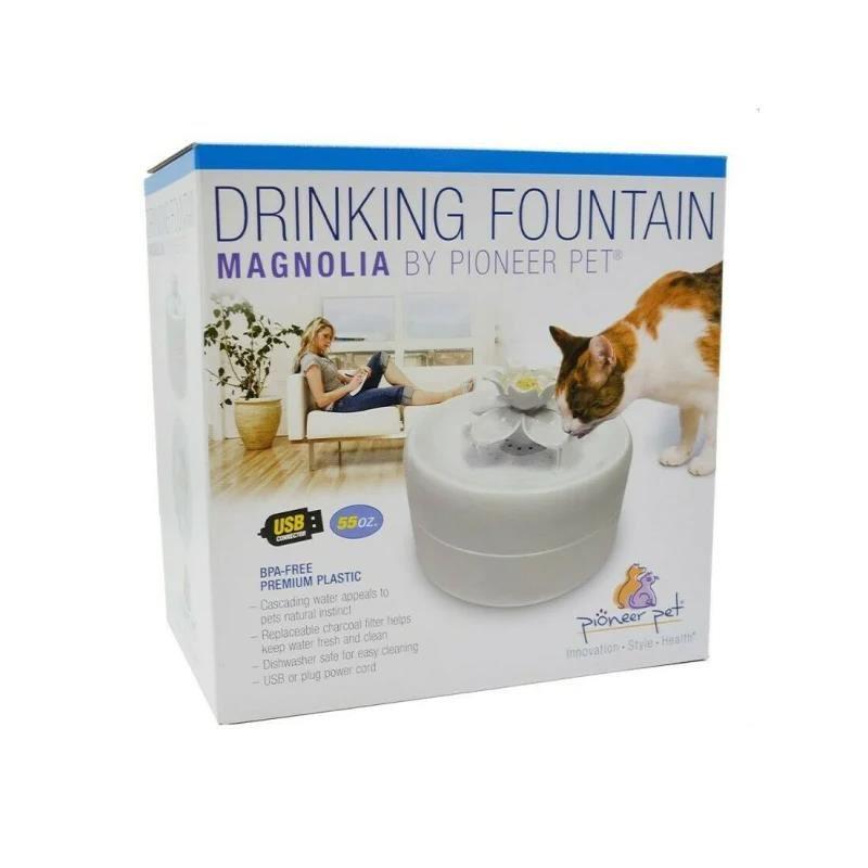 Pioneer Pet Manolya Kediler için Otomatik Su Kabı 1600 Ml