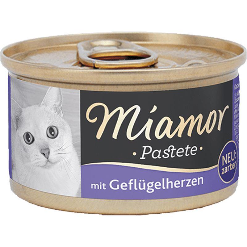 Miamor Pastete Yürek Etli Yetişkin Kedi Konservesi 85gr