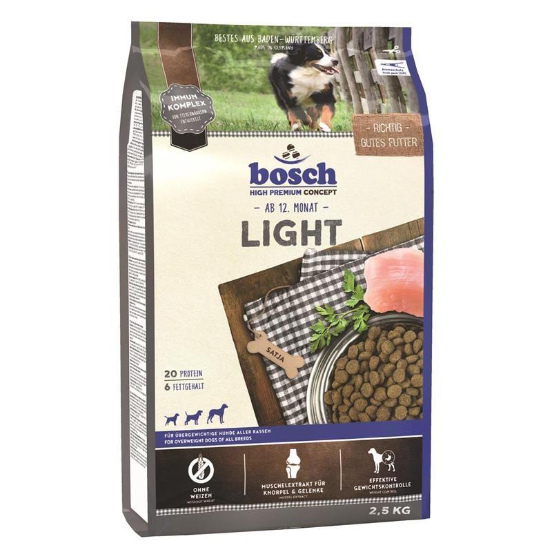 Bosch Light Diyet Formüllü Köpek Maması 2.5 Kg