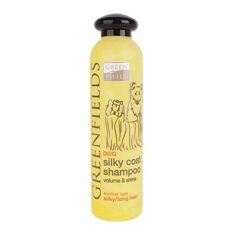 Green Fields Silky Coat Uzun Tüylü Köpek Şampuanı 250 ml