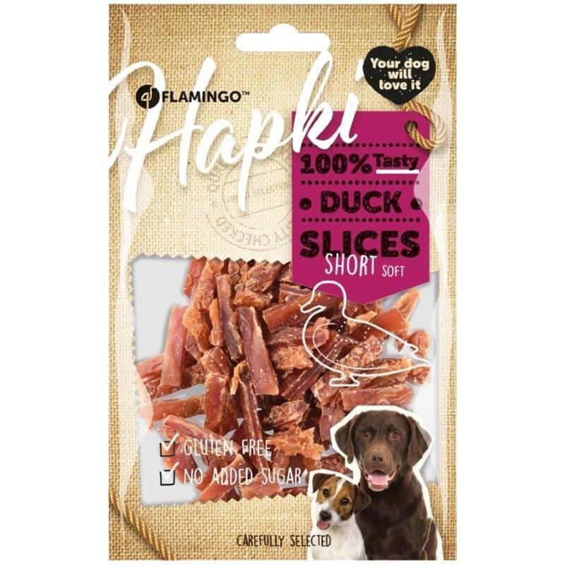 Flamingo Hapki Slices Short Ördekli Köpek Ödülü 85 Gr