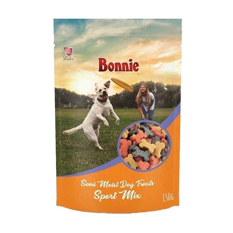 Bonnie Treat For Dog Semi Moist Sport Mix Köpek Ödülü 150 Gr