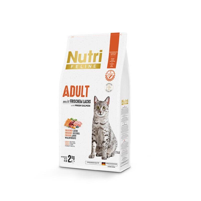 Nutri Feline Somonlu Düşük Tahıllı Yetişkin Kedi Maması 2 Kg