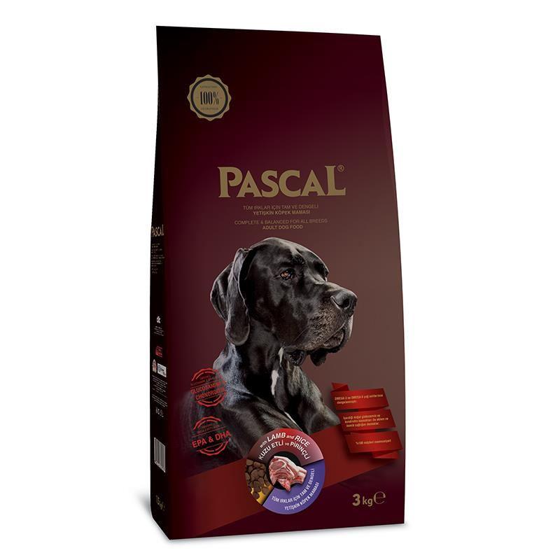 Pascal Kuzu Etli Yetişkin Köpek Maması 3 Kg