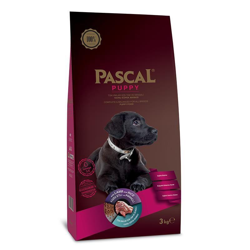 Pascal Kuzu Etli Yavru Köpek Maması 3 Kg