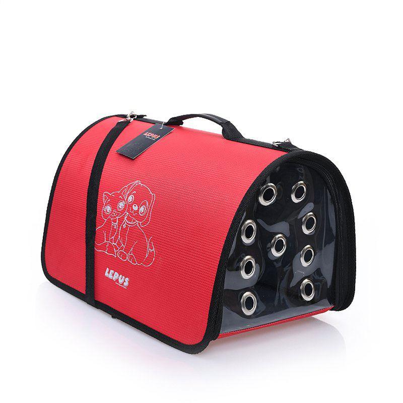 Lepus Fly Bag Kedi ve Köpek İçin Seyahat Çantası Kırmızı
