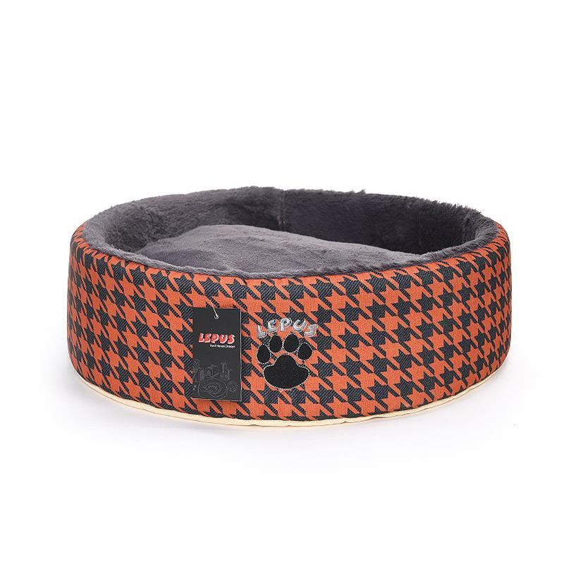 Lepus Kedi Köpek Sünger Yatağı Taba