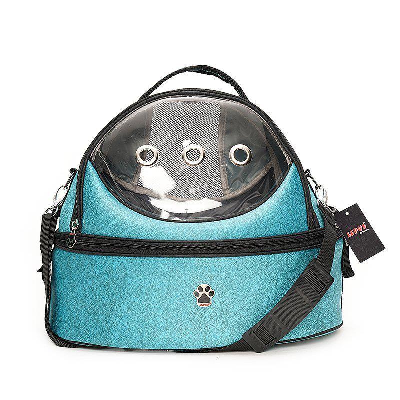 Lepus Kedi Köpek Üç Fonksiyonlu Ufo Çanta Mavi