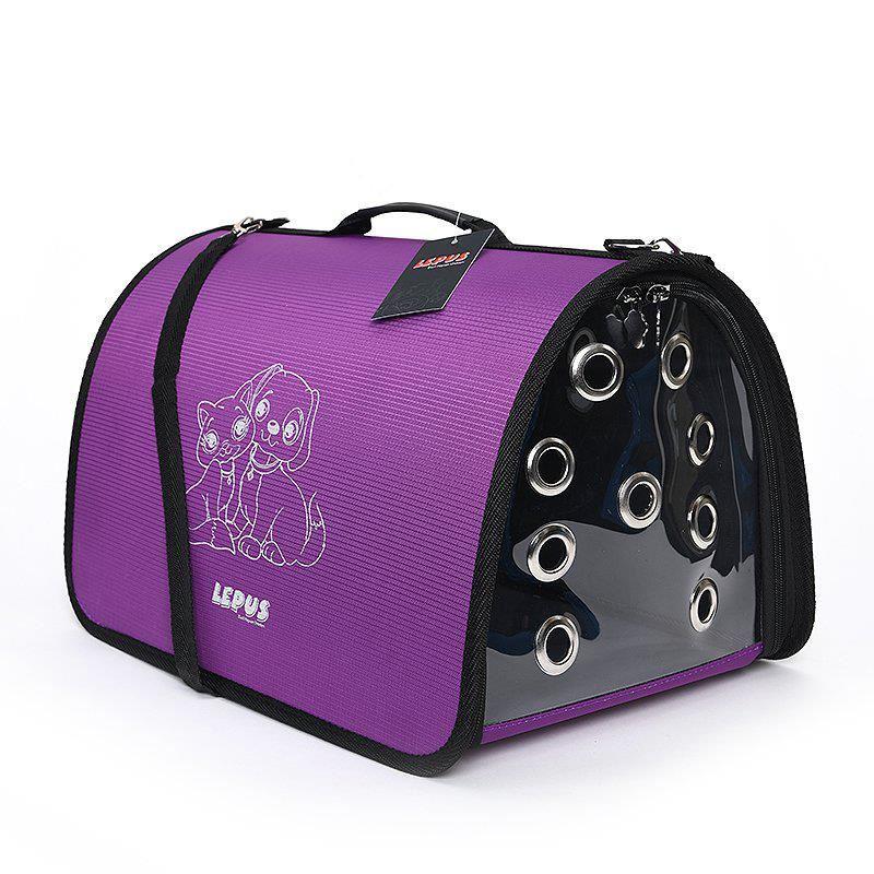 Lepus Fly Bag Kedi ve Köpek İçin Seyahat Çantası Mor