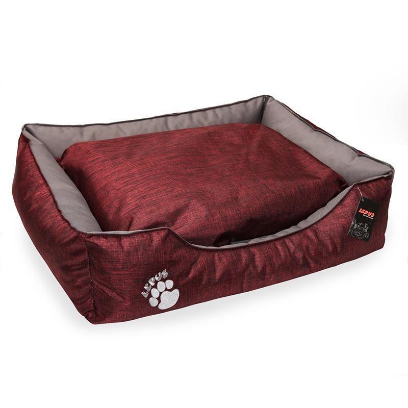 Lepus Dış Mekan Köpek Yatağı XLarge Bordo