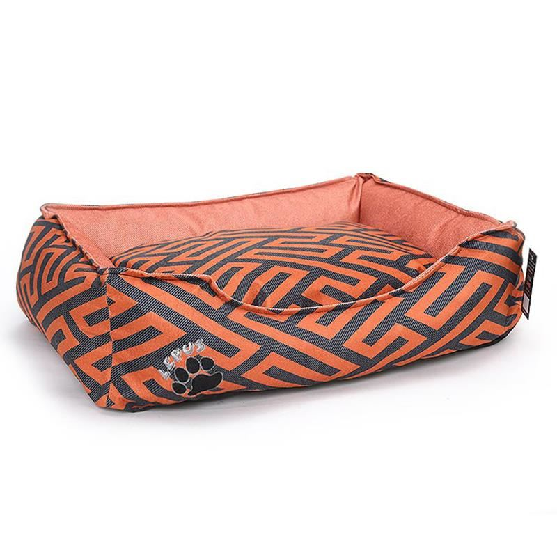 Lepus New Premium Köpek Yatağı Medium Taba