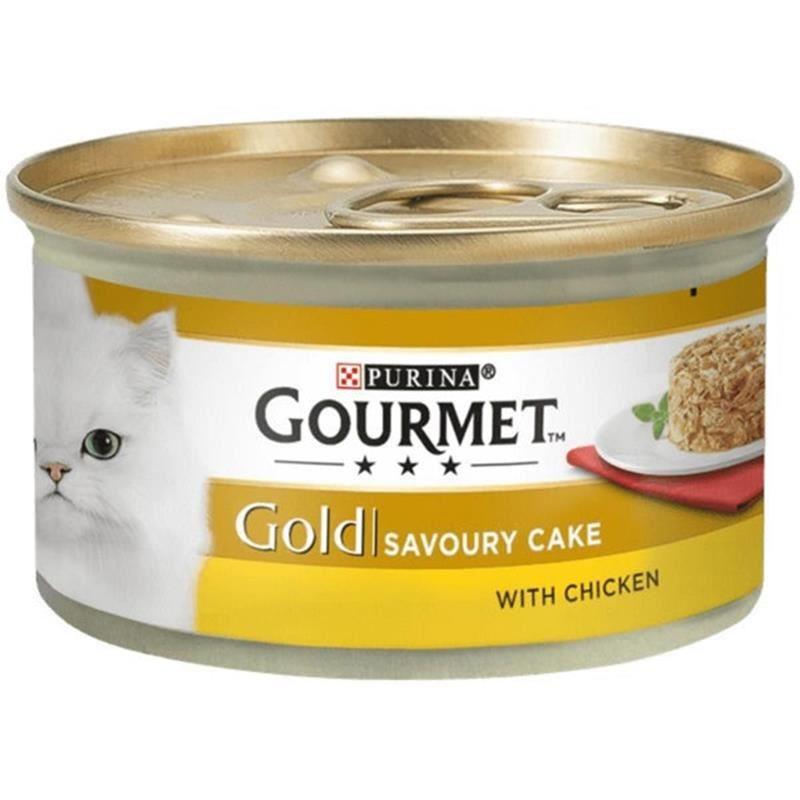 Gourmet Gold Savoury Tavuk Etli Yetişkin Kedi Konservesi 85 Gr