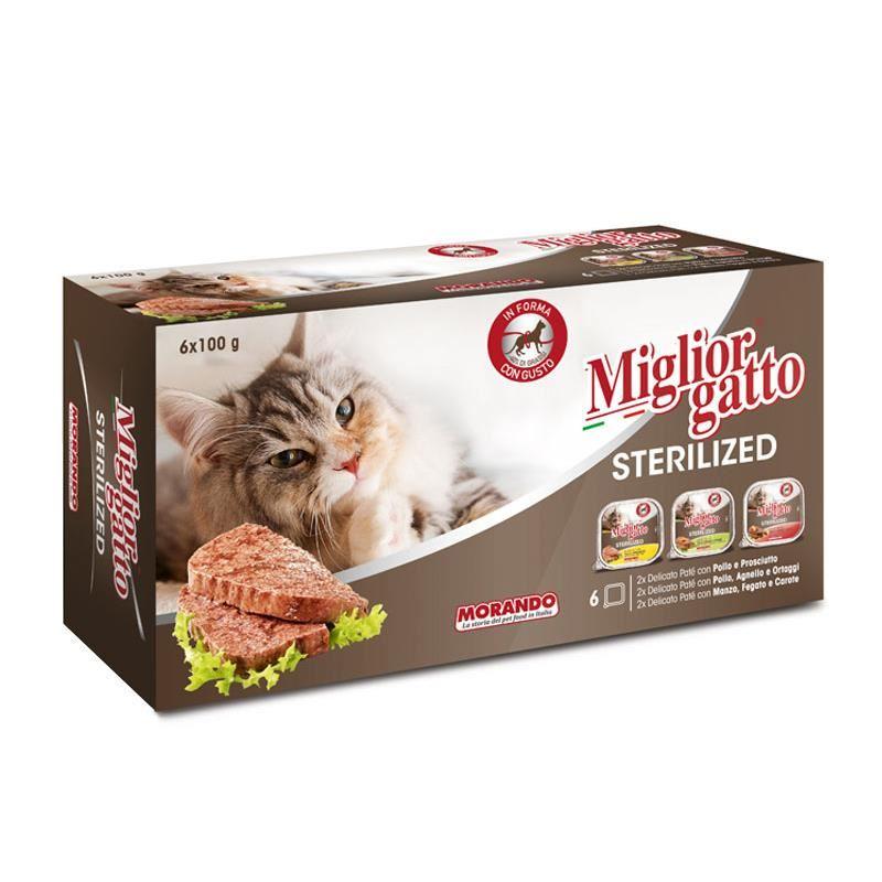 Miglior Gatto Ezme Kısır Kedi Konservesi 100 gr x 6 Adet