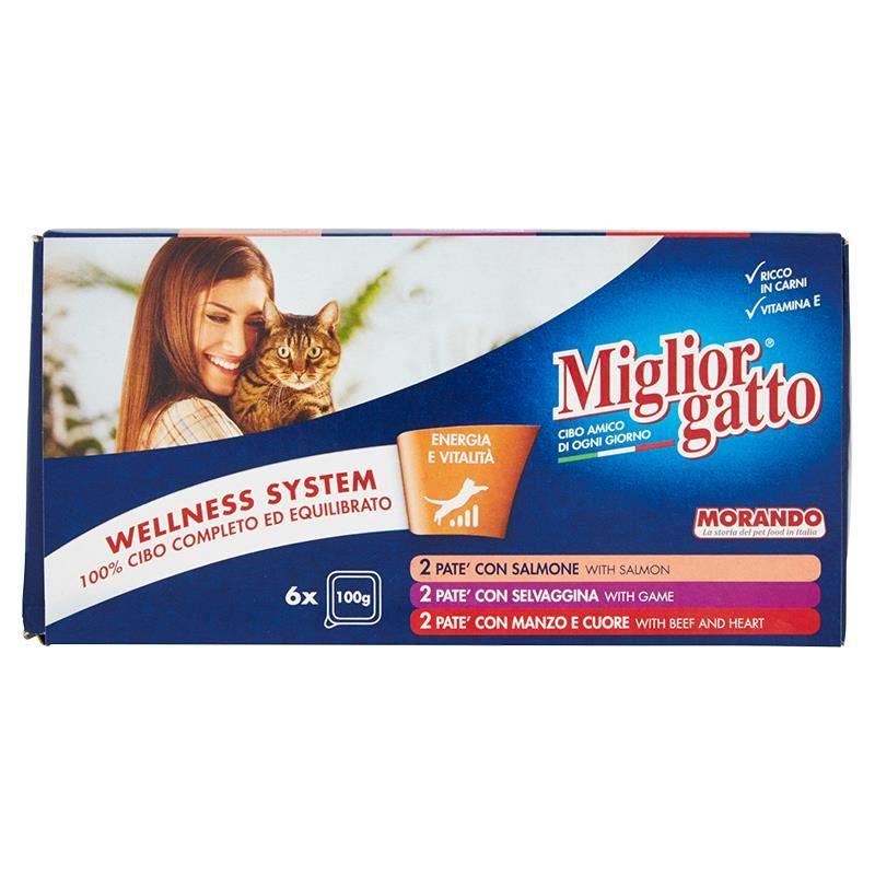 Miglior Gatto Ezme Kedi Konservesi 100 gr x 6 Adet