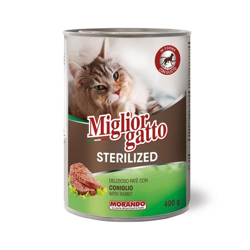 Miglior Gatto Pate Tavşanlı Kısır Kedi Konservesi 400 Gr