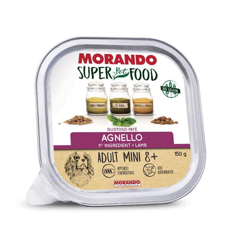 Morando Super Food Mini Tahılsız Kuzulu Yaşlı Ezme Köpek Konservesi 150 Gr