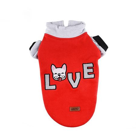 Lepus Küçük Irk Köpek Sweet Kırmızı 2XLarge